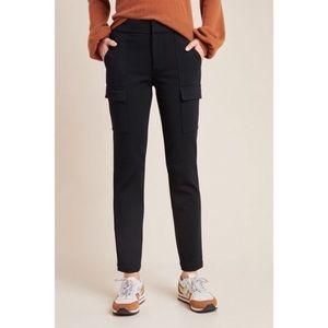 Anthropologie Essential Slim Black Pants Trousers